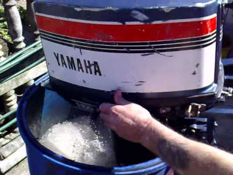Yamaha 25 hp outboard motor 2 stroke dwusuw youtube for 25hp yamaha 2 stroke