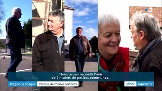 Magazine basque : paroles de maires sortants