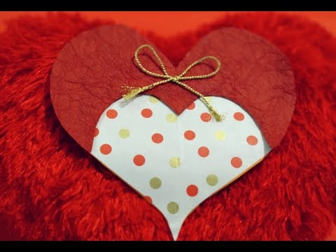 Greeting Card Making Ideas | Valentine Card Handmade | Love Card Making