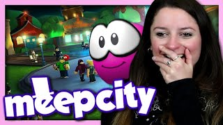 WE'RE DISCOVERING MEEPCITY! ROBLOX ANDROID IOS