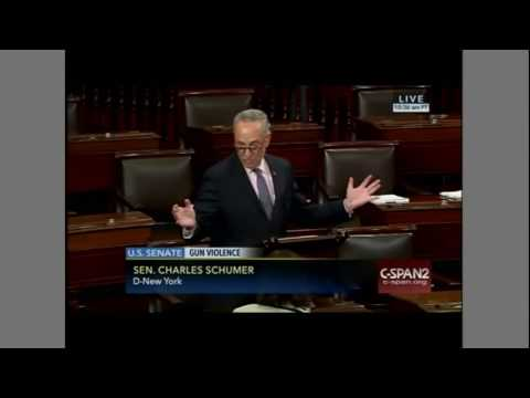 Sen. Chuck Schumer on possible compromise on gun legislation
