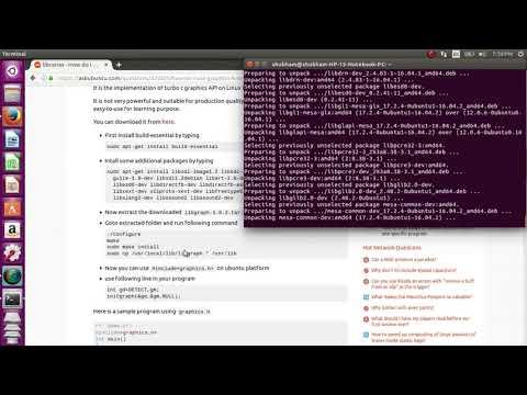 How To Install Graphics.h On Ubuntu 16.04 LTS    Use Graphics,h On Ubuntu