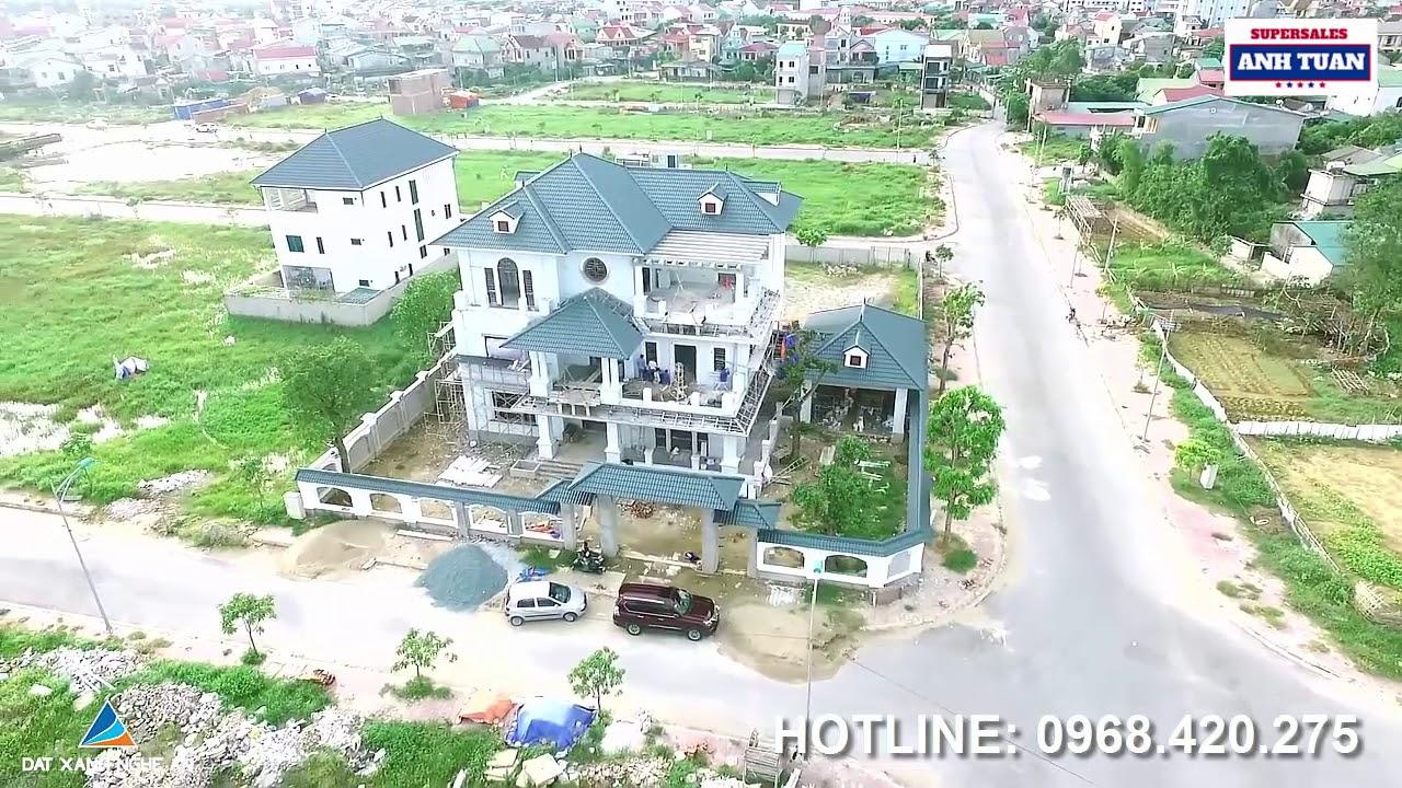 Khu Đô Thị Nam Lê Lợi: Nơi Đáng Sống Nhất TP Vinh Từ Flycam