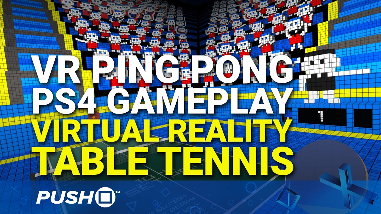 VR Ping Pong Review (PS4) | Push Square