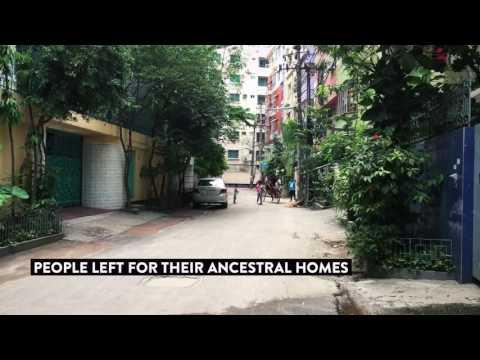 Empty City: Dhaka The Capital City Of Bangladesh During Eid Holiday