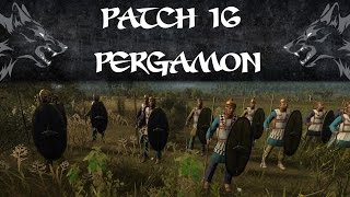 The Power of PICKED PELTASTS! | Pergamon vs Rome | Total War Rome 2 Patch 16 Online Battle