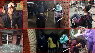 Masked Mob Attacks JNU; Around 40 Injured