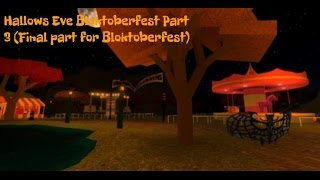 Hallows Eve 2016-Roblox Event-How to get all the prizes from Bloktoberfest {PART 3 FINAL}