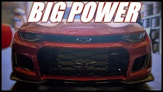 Procharger Camaro Puts Down Big Power On Pump Gas and Meth Injection!