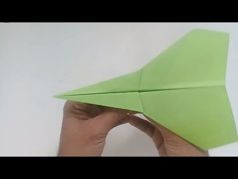 How to make a paper plane - best paper airplane - paper airplanes that fly far