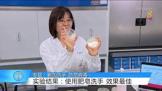 狮城有约 | 疫情专题:勤洗手 除细菌