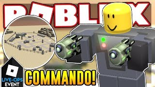 [LIVE-OPS] How to get the COMMANDO in TOWER DEFENSE SIMULATOR | Roblox