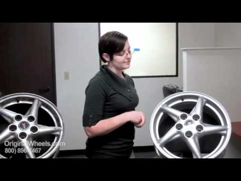 Grand Prix Rims & Grand Prix Wheels - Video of Pontiac Factory, Original, OEM, stock used rim
