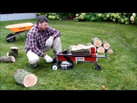EC5T20 5 Ton Electric Log Splitter