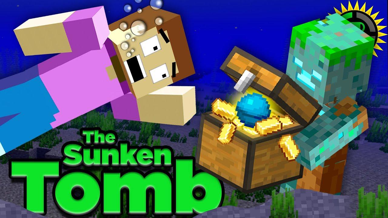 Teoria dos Jogos: A Tragédia da Tumba Submersa de Minecraft (O Afogado) + vídeo