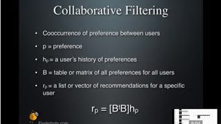 Collaborative Filtering Recommenders: Part 2, Data