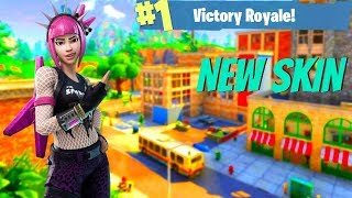 Fortnite : « Power Chord Skin Gameplay » - Fortnite Dynamic Trio Returns (420 victoires)