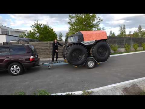 SHERP ATV loads on trailer in 20 seconds