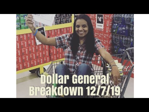 Dollar General Breakdown 12/7/19 | ALL DIGITAL COUPONS!!! ANYONE CAN DO THIS