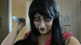 ond dukke evil doll halloween makeup