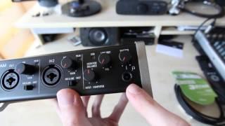 Tascam-US2x2 Unboxing/Einrichtung (German/HD)