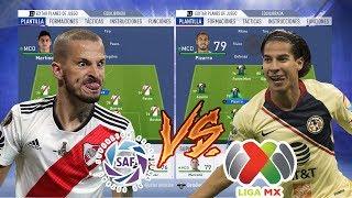EQUIPO LIGA ARGENTINA VS EQUIPO LIGA MEXICANA | Experimentos Fifa 19