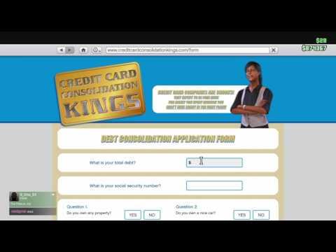 Kings card debt tutorial//GtaV