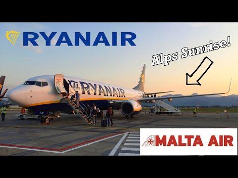 OPERATED BY MALTA AIR! Ryanair's Maltese Subsidiary from Milan Bergamo to Bristol - Trip Report