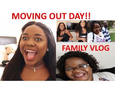 BIRMINGHAM TO OXFORD UNIVERSITY- MOVING IN DAY| FAMILY VLOG | MISSVARZ