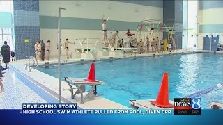 Student swimmer pulled from Holland pool