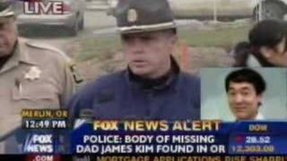 JAMES KIM BODY FOUND REPORT