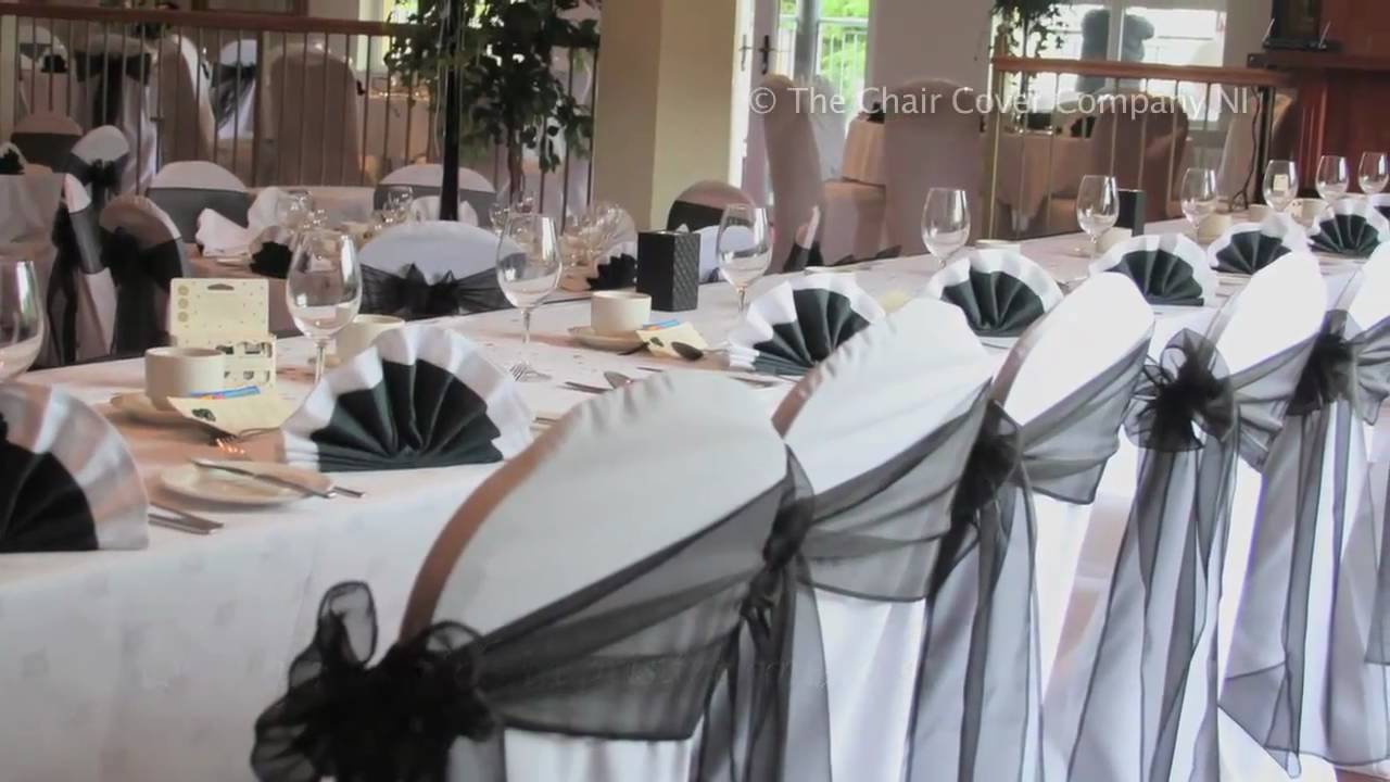 Chair Covers For You Wooden Outdoor Chairs Plans The Cover Company Ni Youtube