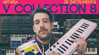 Arturia V-Collection 8 - Quick Demo + Review