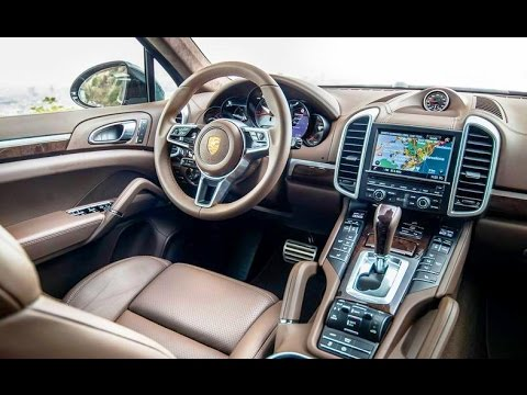 video 2015 porsche cayenne s diesel interior hd youtube. Black Bedroom Furniture Sets. Home Design Ideas