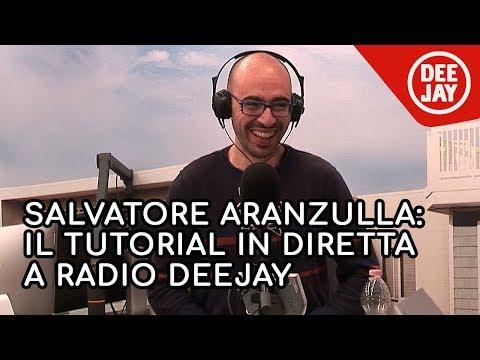 Salvatore Aranzulla improvvisa 5 tutorial a Radio DEEJAY