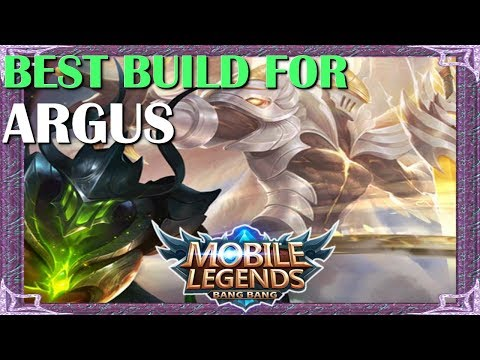 Mobile Legends Best Build In Any Situation For Argus | Mythical Academy # 6