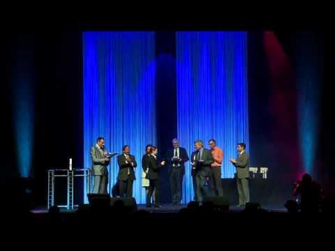 Piscine Global Expo 2012 - Awards Cérémony - Cérémonie de remise des Trophées