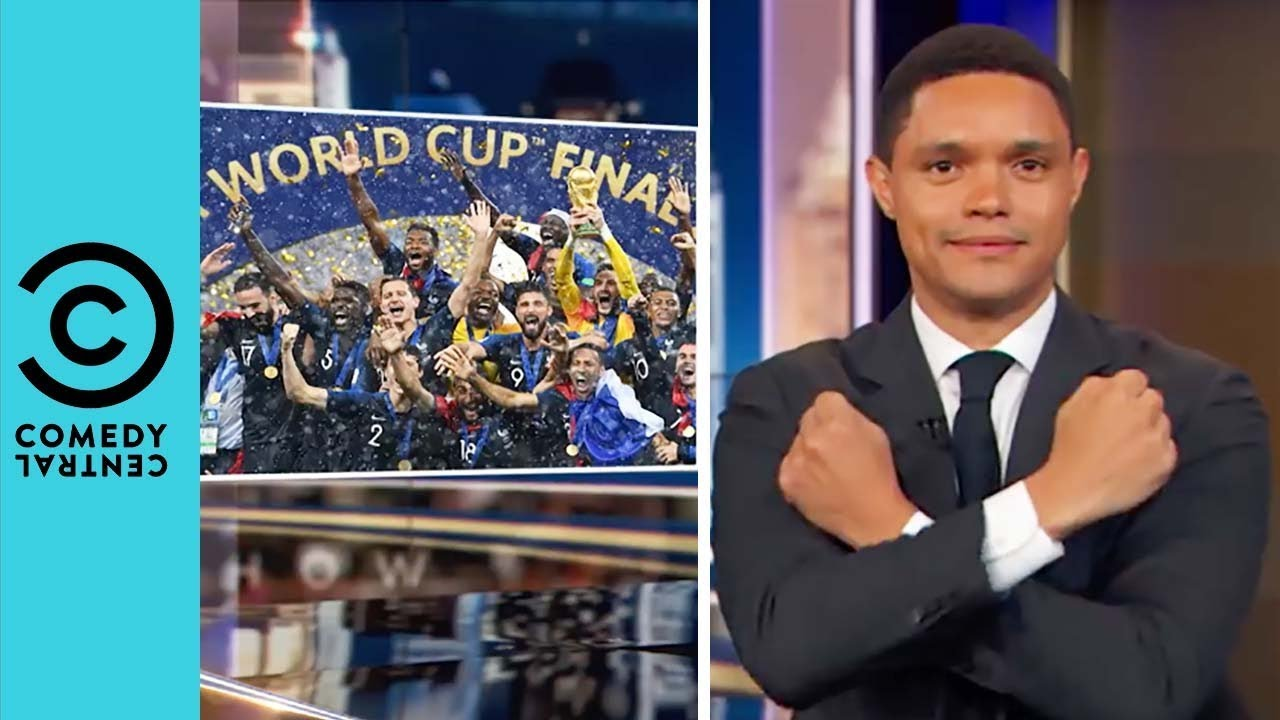 Did Africa Just Win The World Cup? | The Daily Show With Trevor Noah