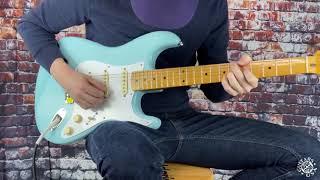 Fender Vintera '50s Stratocaster Modified - Daphne Blue / Demo