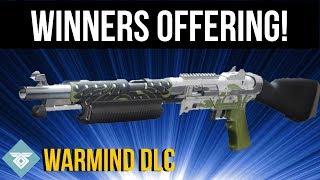 DEAD ORBIT WINNERS OFFERING! BASILISK - WARMIND DLC - DESTINY 2