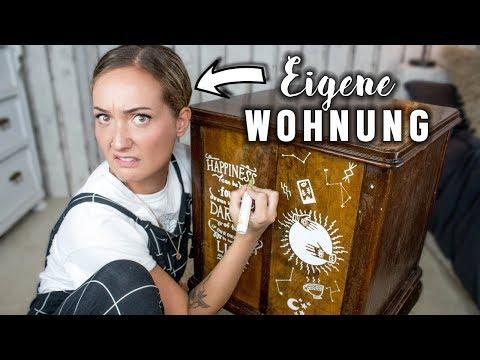 Unsere ERSTE EIGENE WOHNUNG! 😱 Paint &...