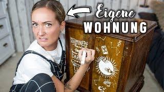 Unsere ERSTE EIGENE WOHNUNG! 😱 Paint & Talk