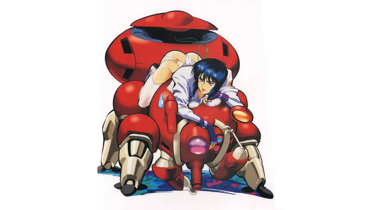 Ghost In The Shell Megatech Body Ps1 Game Artbook Review Motoko Magic Youtube