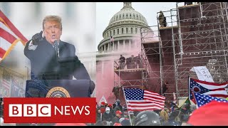 Calls for Trump to be removed from office days before Biden inauguration - BBC News