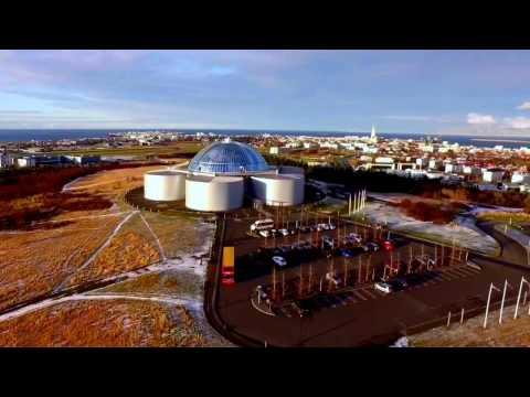 Reykjavik Hop On Hop Off Perlan by Drone