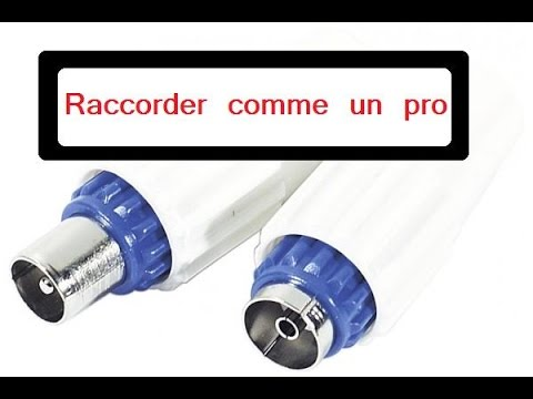 Raccorder prise d 39 antenne 9 52 youtube - Doubleur d antenne tv ...