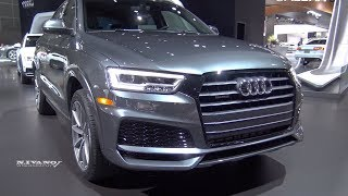 2018 Audi Q3 2.0T - Exterior And Interior Walkaround - LA Auto Show 2017
