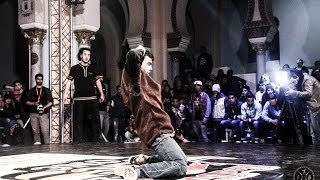 Cranky vs South Eagle DEMI FINAL//.RED BULL BC ONE TUNISIA CYPHER 2015 FULL HD.iBreakTv