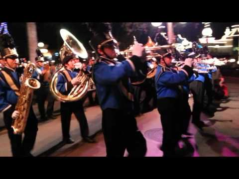 Anaheim Highschool Band at Disney CA Adventure