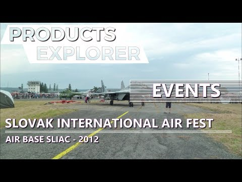 Travelling and Events - Slovak International Air Fest - Air Base Sliač - 2012